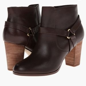 Cole Haan Calixta Bootie chestnut brown size 9.5